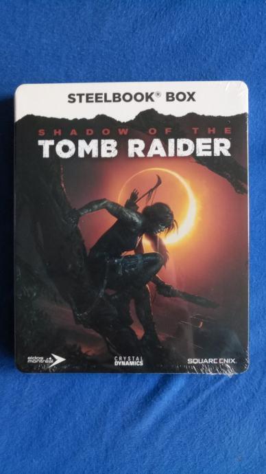 Shadow of the Tomb Raider Steelbook Box (nije igra)