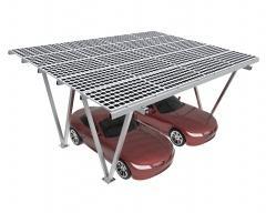 Solarne nadstrešnice za vozila TOP nadstrešnica