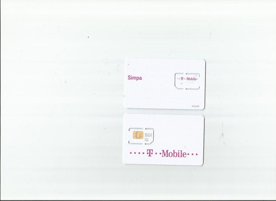 tel. kartica za mobitel HT Simpa 0017 po katalogu zoggy 008a