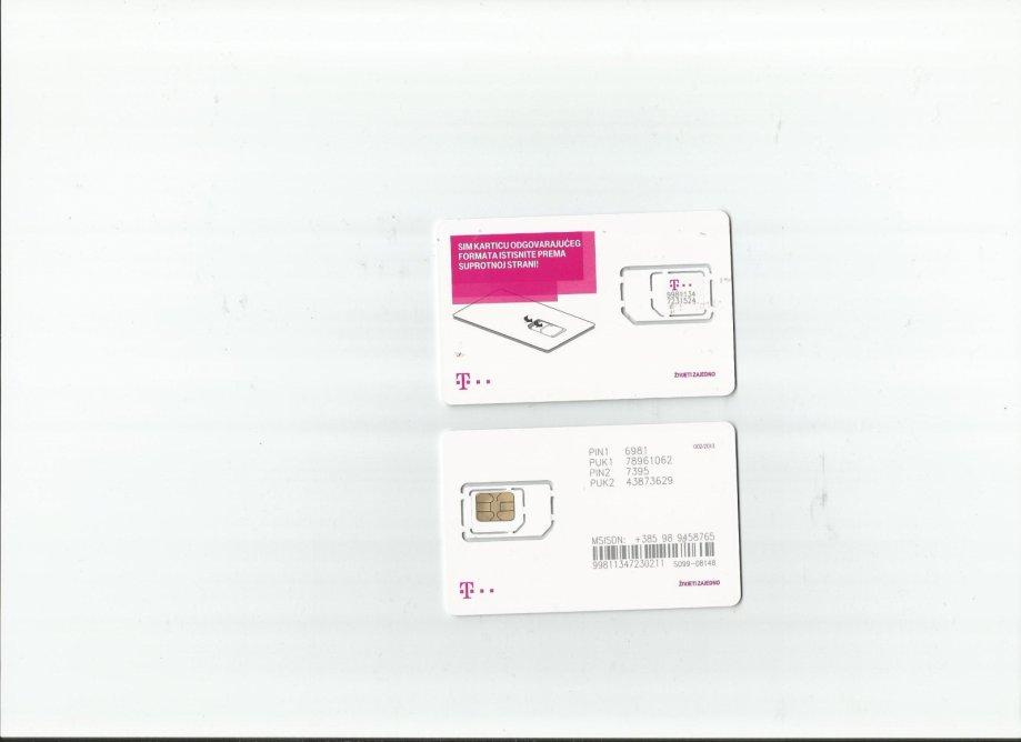 tel. kartica za mobitel HT Simpa po zoggy katalogu 0029