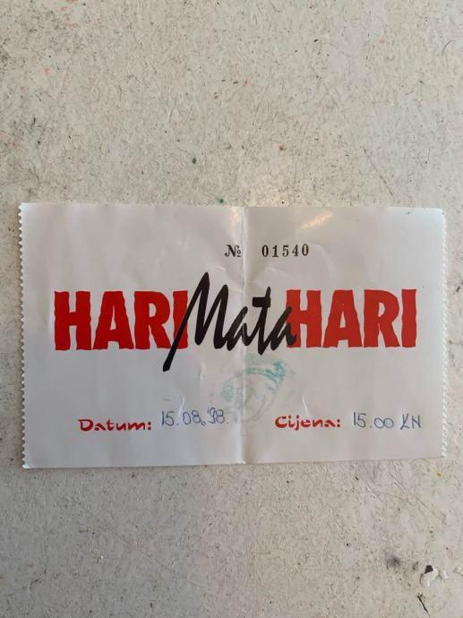 Ulaznica Hari Mata Hari
