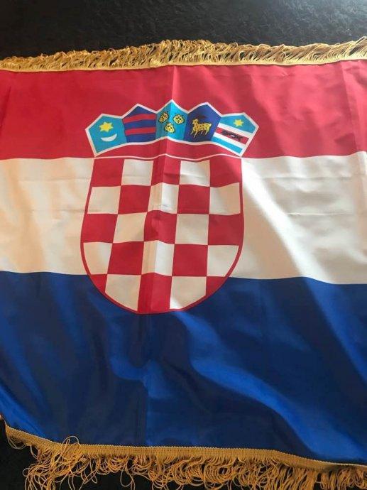 Zastave Republike Hrvatske Različitih Veličina Hrvatska Zastava