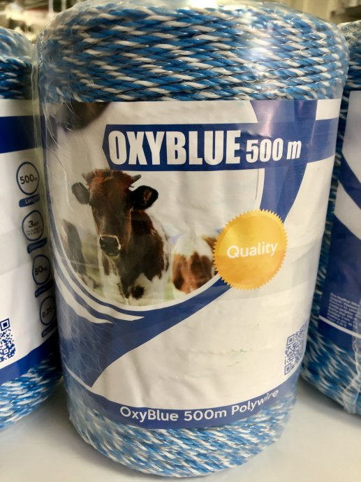 OXYBLUE®  500m žica za električni pastir - BEST BUY