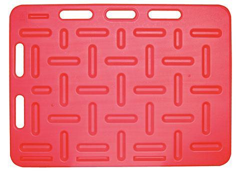 Ploča za tjeranje svinja crvena