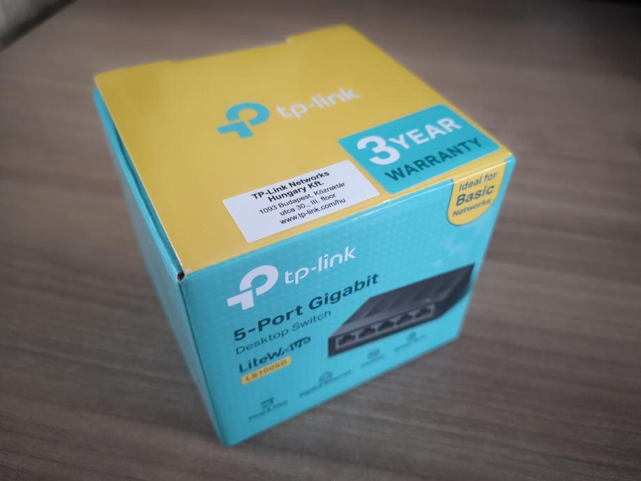 Switch Tp-Link 5-port Gigabit