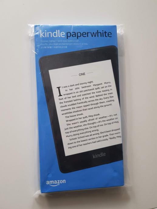 Amazon Kindle Paperwhite NOVO neotvoreno vodootporan
