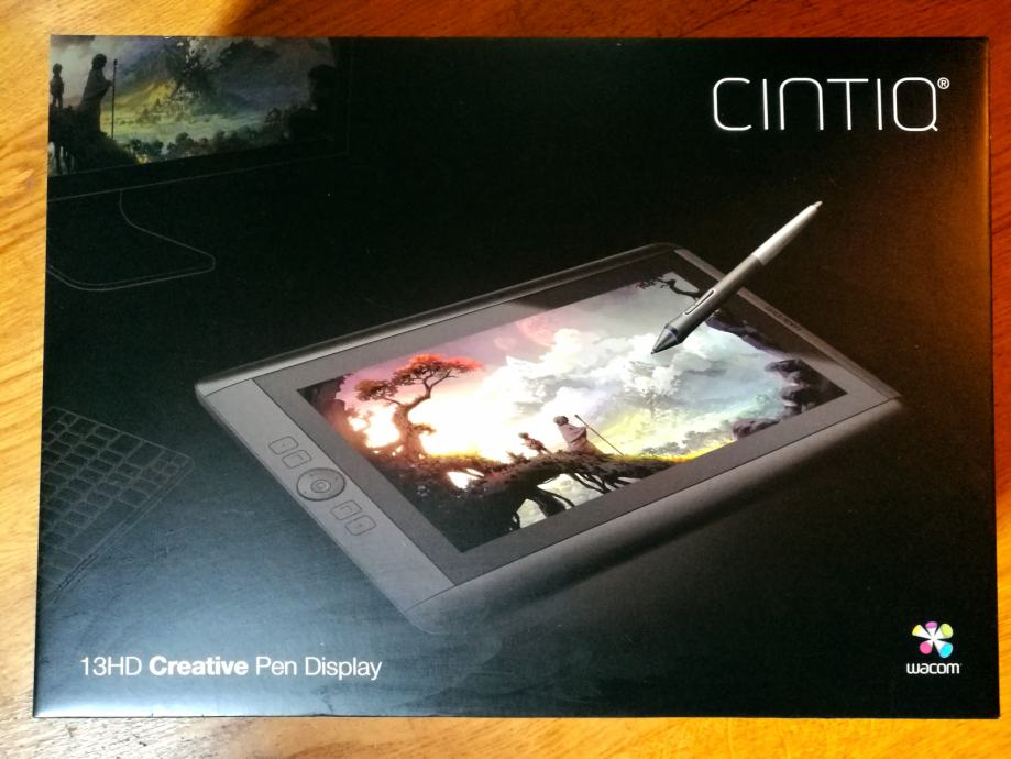Wacom Cintiq 13 HD grafički tablet s displayem