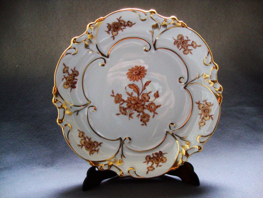 Komplet tanjur veliki,manji,zdjela i dva ovalna - JLMENAU