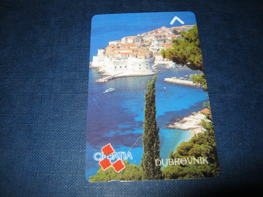 Magnetska telefonska kartica-nova,Dubrovnik 50 impulsa