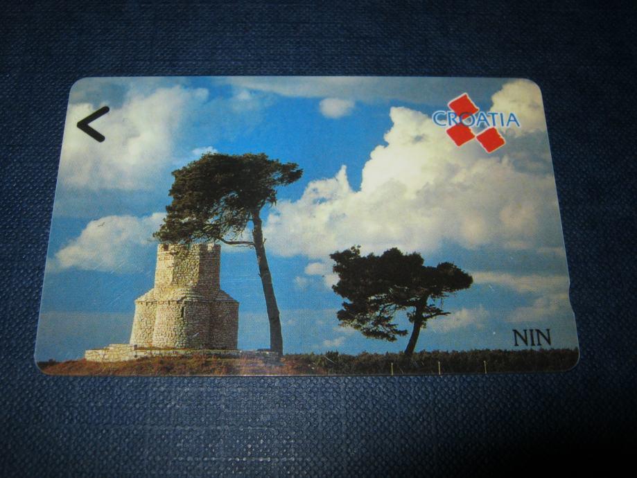 Magnetska telefonska kartica-nova, Nin, 50 impulsa