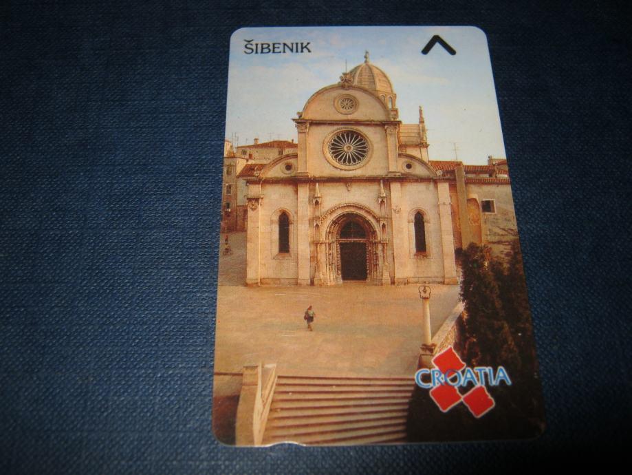 Magnetska telefonska kartica-nova,Šibenik 50 impulsa