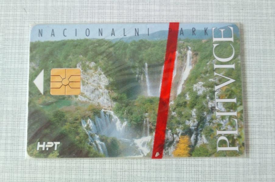 Nova telefonska kartica Nacionalni park Plitvice
