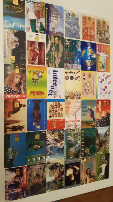Telefonske kartice LOT 56 kom