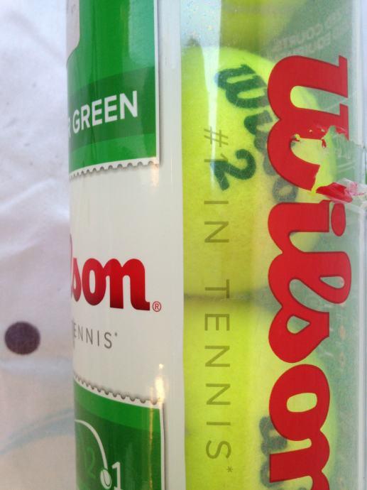 Wilson Starter Green teniske loptice paket x 4 komada