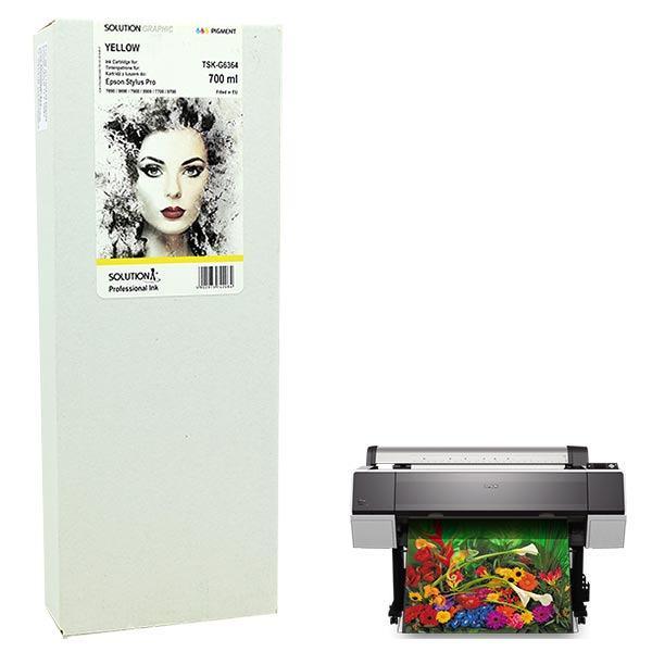 INK JET TINTA EPSON T6364 700 ml. YELLOW GRAPHIC