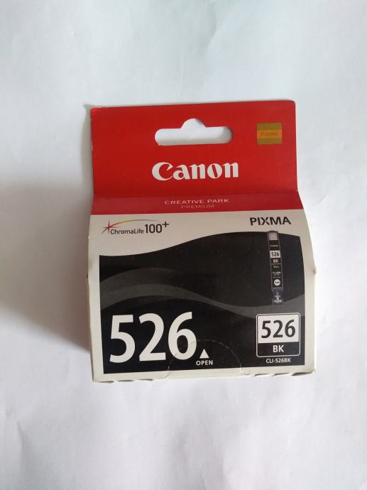 Tinta Canon CLI-526Bk , CLI-526Y, CLI-526M