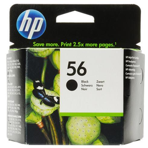 Tinta HP 56 Crna orginal C6656AE