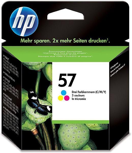 Tinta za Inkjet HP C6656AE (56) crna/HP C6657AE (57) u boji ORIGINAL