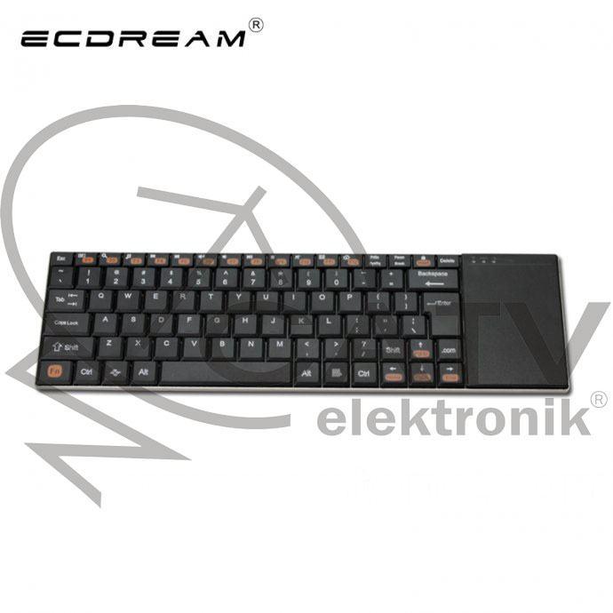 Bežična Tipkovnica Ecdream  / Miš / PC / Android / Linux / Mac OS / TV