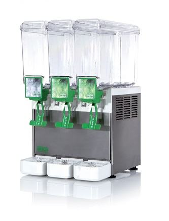 Aparat za hladne sokove BRAS s 3 spremnika po 5 litara NOVO