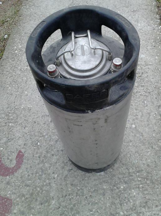 Bačva inox spremnik za sirup colu ili gaz. pića za šankomat