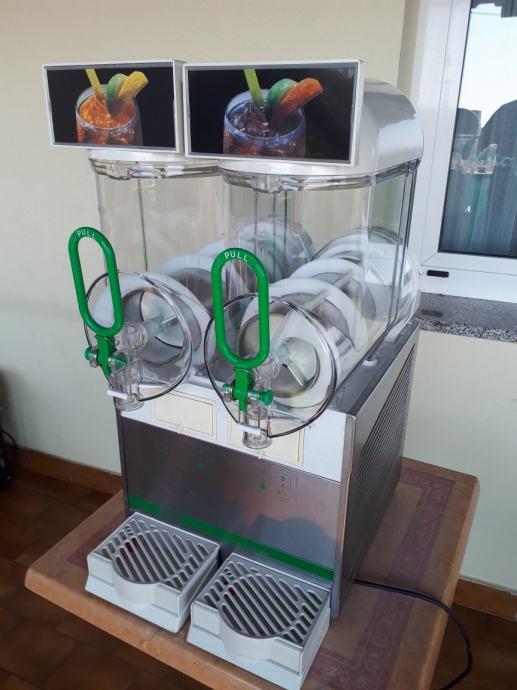 Slush aparat za granitu BRAS 2x 10 litara,kao nov,malo korišten