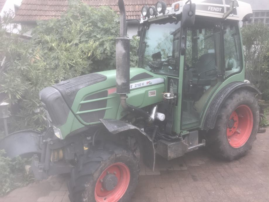 Fendt 210V vinogradarski/vocarski