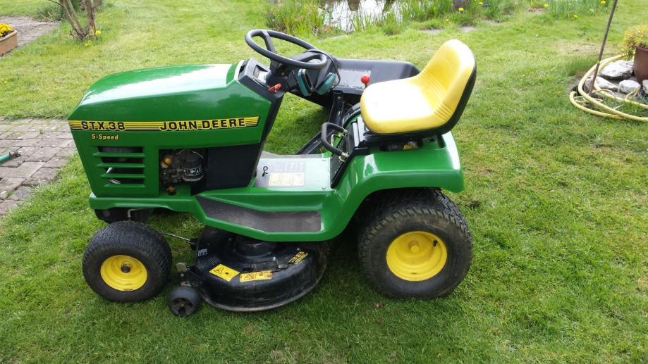 John Deere Toaster : Kosilica traktor john deere stx u izvrsnom stanju