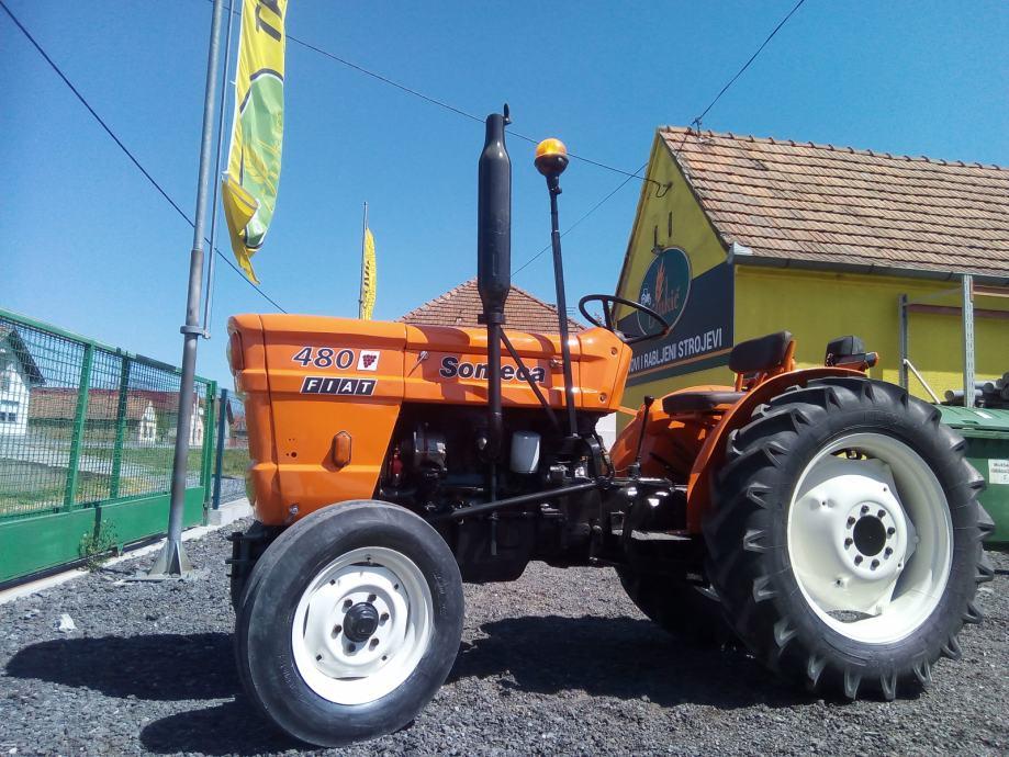 Traktor Vinogradar - Voćar FIAT SOMECA 480