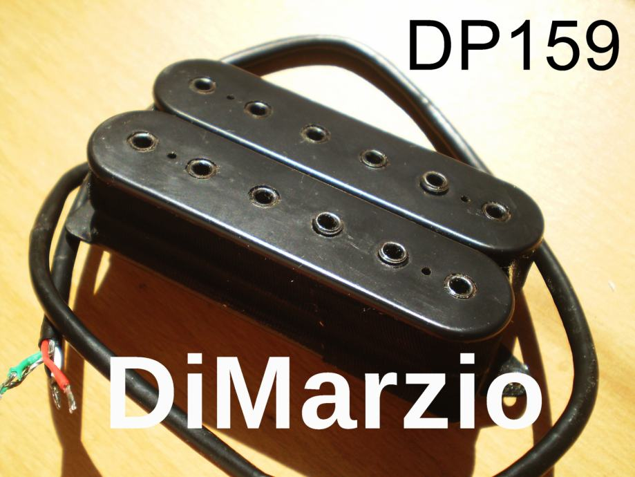DiMarzio EVOLUTION DP159 powerful bridge Humbucker pickup