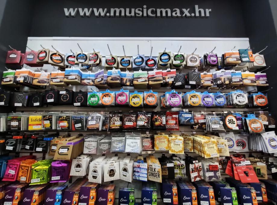 Velika ponuda žica za gitaru,bas i gudačke instrumente