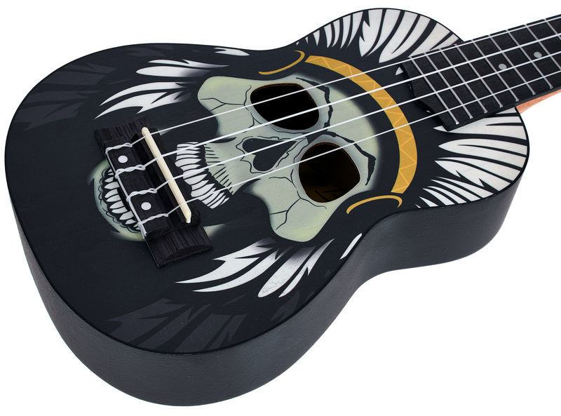 Harley Benton DOTU UKE-S Native Skull ukulele