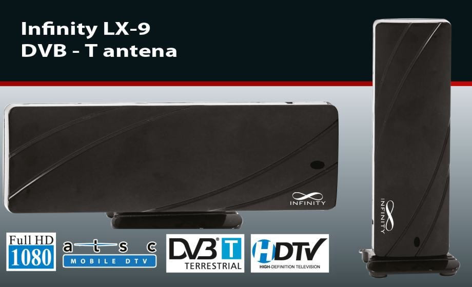 Infinity LX-9 sobna DVB-T/T2 antena