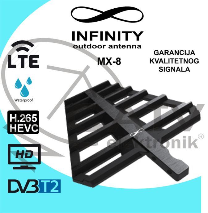 Infinity MX-8 LTE UHF DVB-T/T2 sobna / vanjska antena
