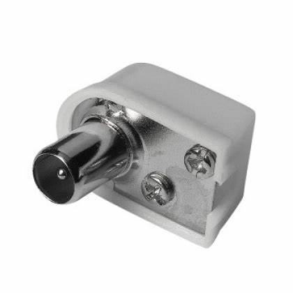 Konektor antenski muški 90 stupnjeva ⭐️KORISNIČKI RAČUN 10 GODINA +⭐️