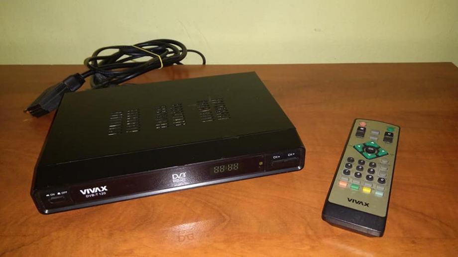 DVB-T 120 Vivax digitalni prijemnik za TV
