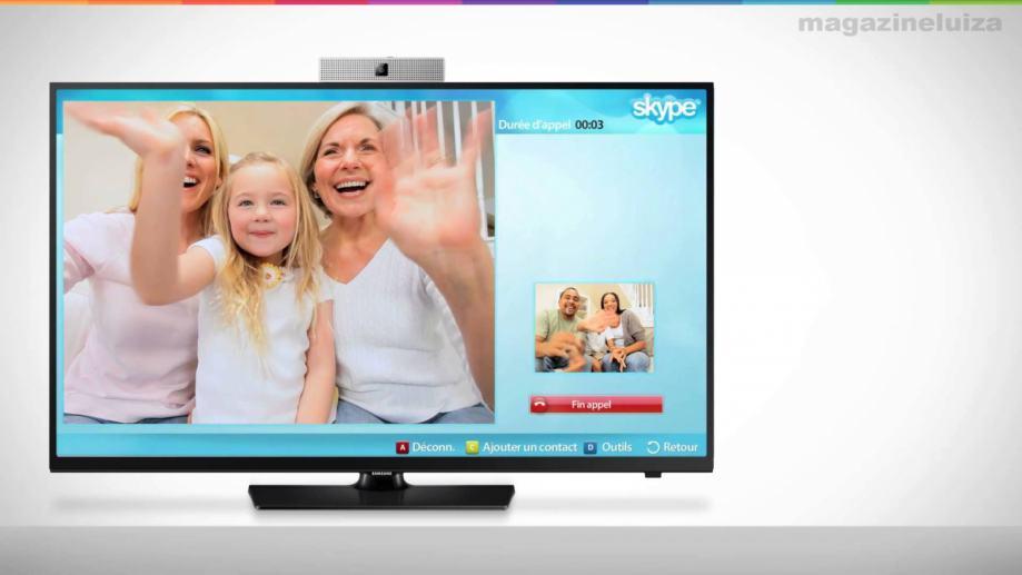 Samsung TV Camera Skype SmartTV VG-STC4000
