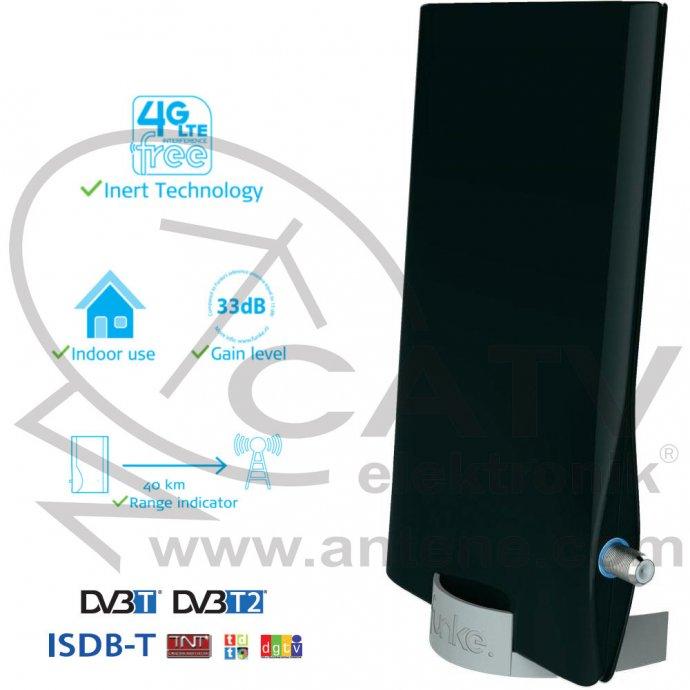Funke DSC550 DVB-T/DVB-T2/DVB-T2 HD/ISDB-T/LTE - sobna antena