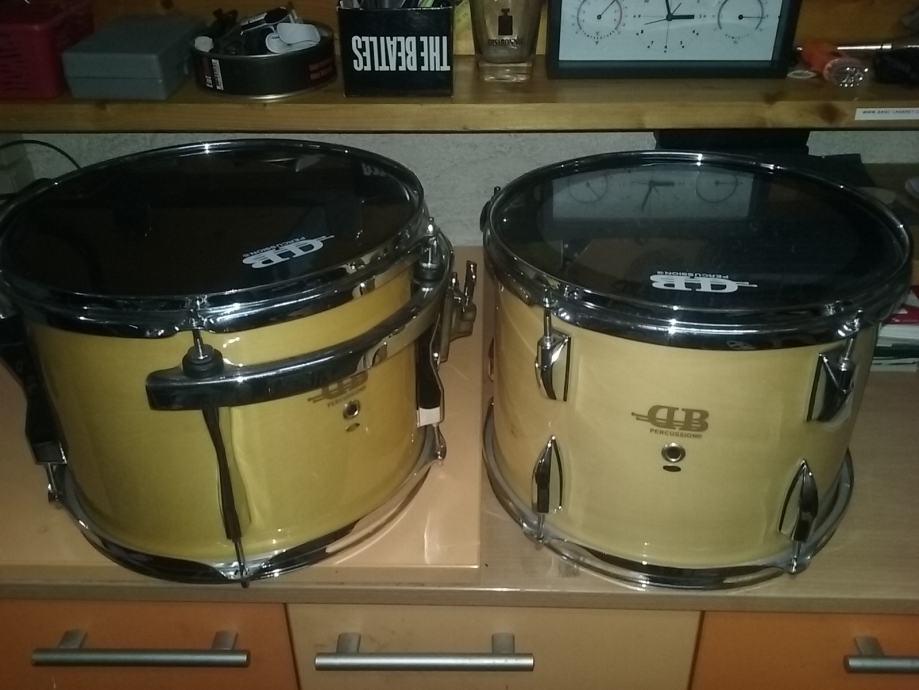 "Dva toma 12"" DB percussion"