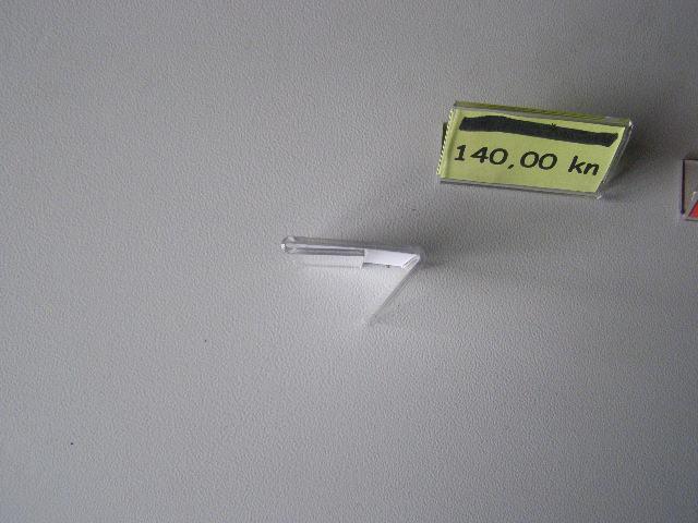Plexy za cijene 5 cm x 3 cm, 90 komada