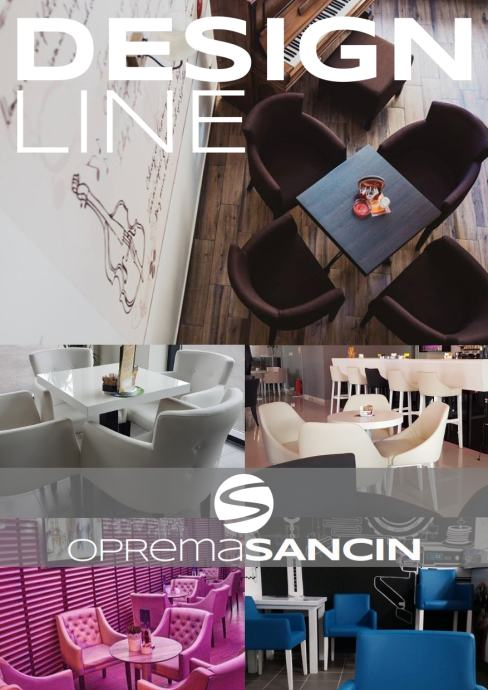 Fotelje, stolice, barske stolice za ugostiteljstvo -DesignLine- NOVO!