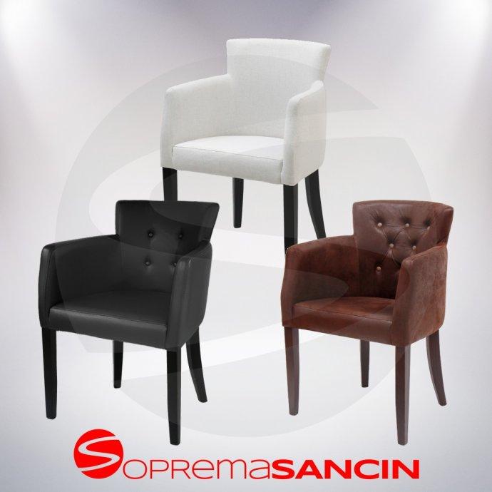 Vrhunske fotelje za ugostiteljstvo i dom ARIA, izvrstan dizajn, NOVO!