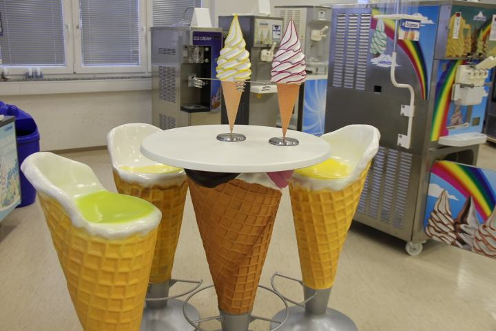 stol imiza sladoled