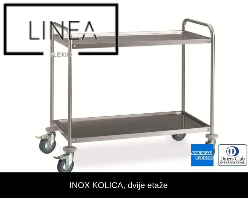 Servirna kolica, 2 etaže - 599,00 kn + PDV