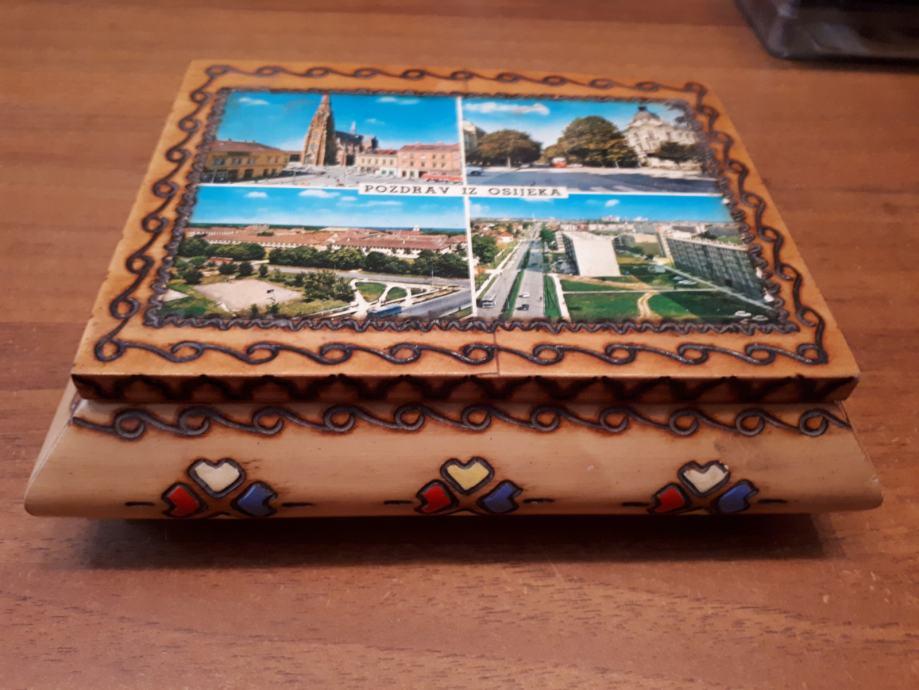 Stara drvena kutija - Osijek