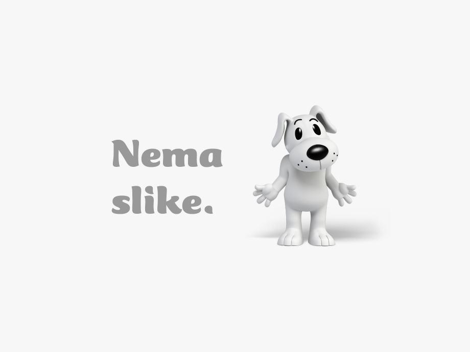 Vaza staklena oslikana za upotrebu ili dekoraciju