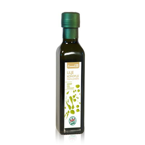 Ulje konoplje - hladno prešano 250 ml - 100% hrvatsko