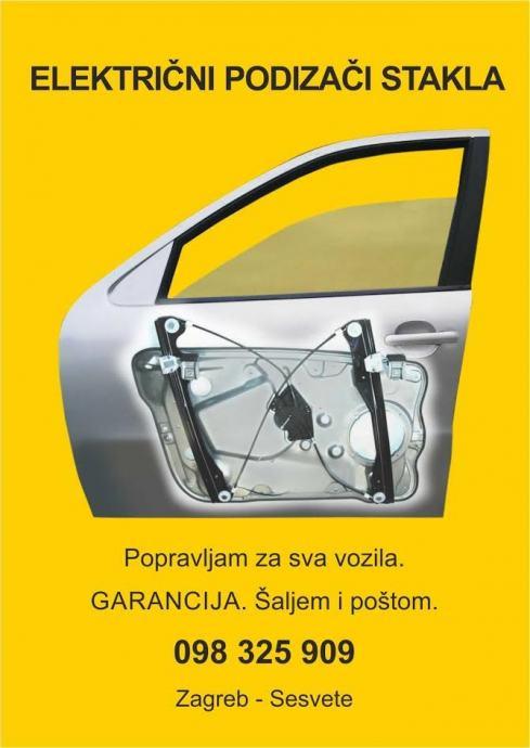 Električni podizači stakla 350 kn RABLJENI I OBNOVLJENI,GARANCIJA 1.g