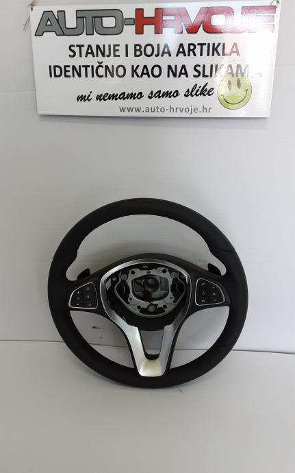 Kolo volana Mercedes GLC X253 C253 2016-2020 / koža / funkcije /