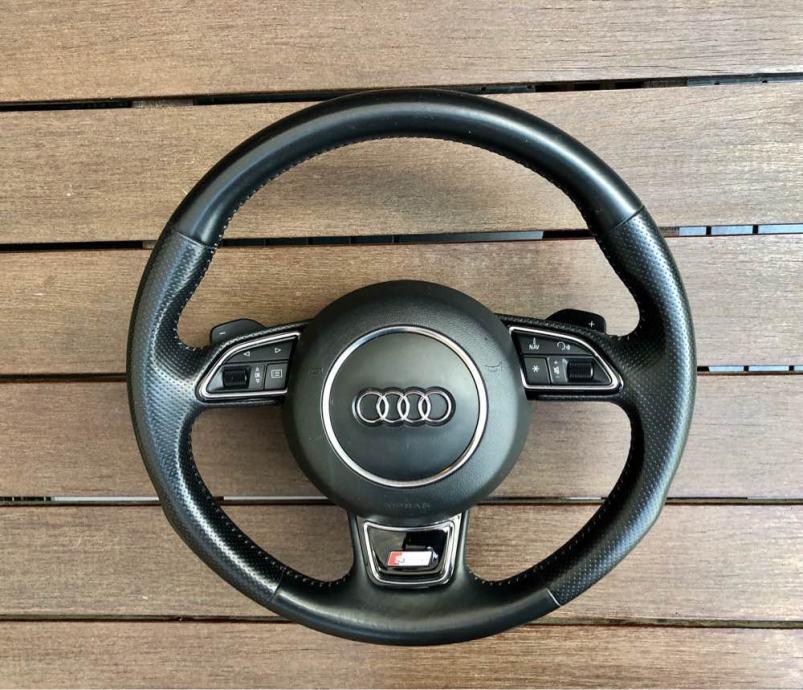 Audi s-line multifunkcionalni volan sa šifterima